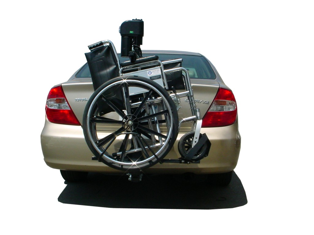 Manual Lift For Disabled : Manual wheelchair ultra lite lift on toyota camry