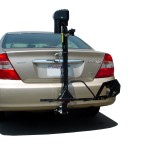 Manual wheelchair Bracket with Ultra Lite Lift on A Toyota Camry