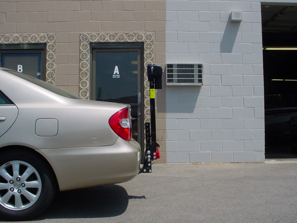 Side View; Ultra Lite Lift on A Toyota Camry.