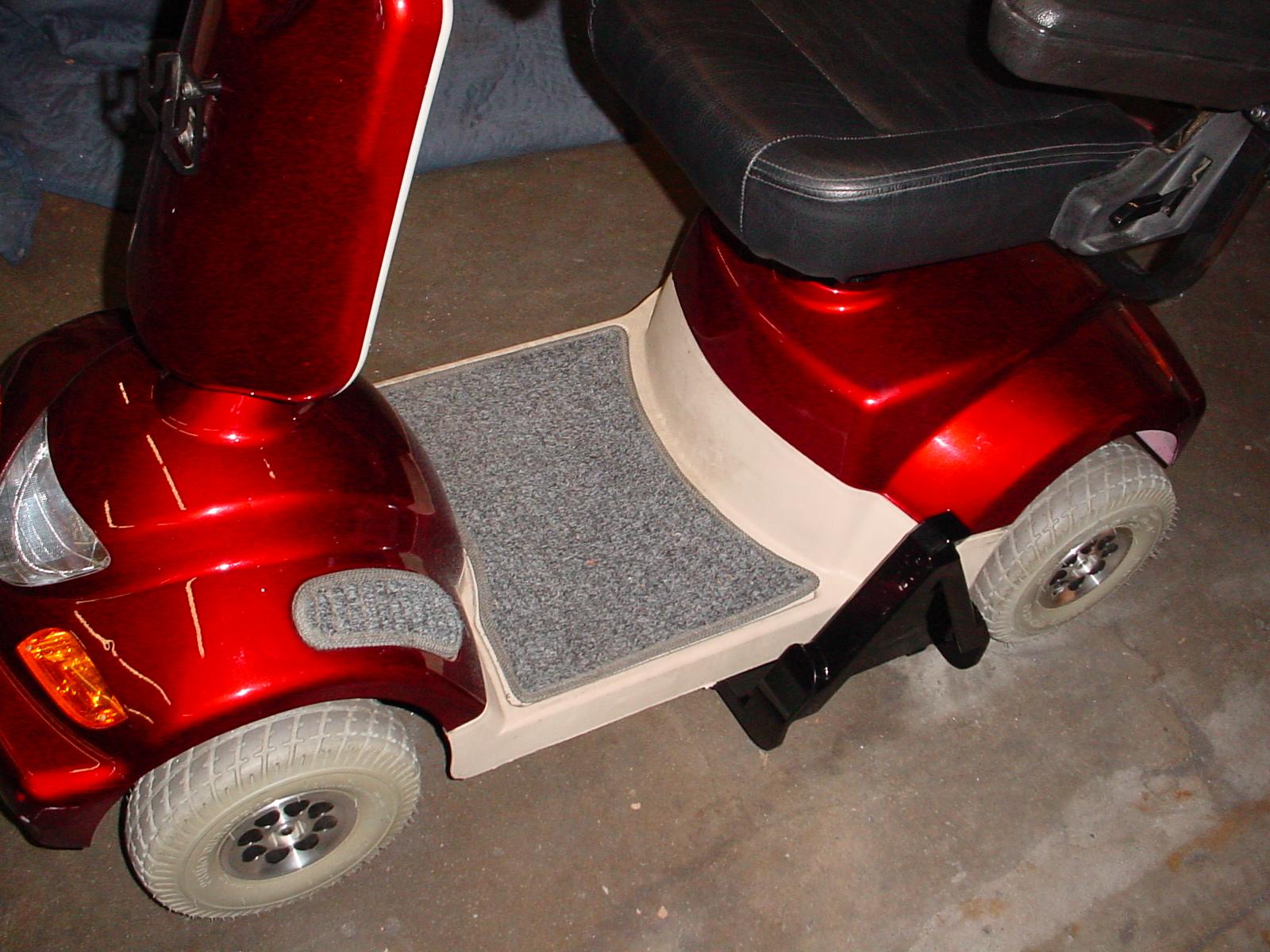 Bracket on A Scooter.