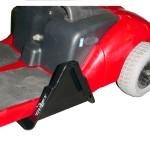 Ultra Lite Bracket Bolt on A Buzz Around Scooter.