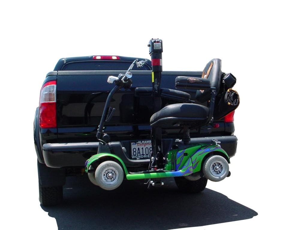 Ultra Lite Lift on A Pickup Truck.